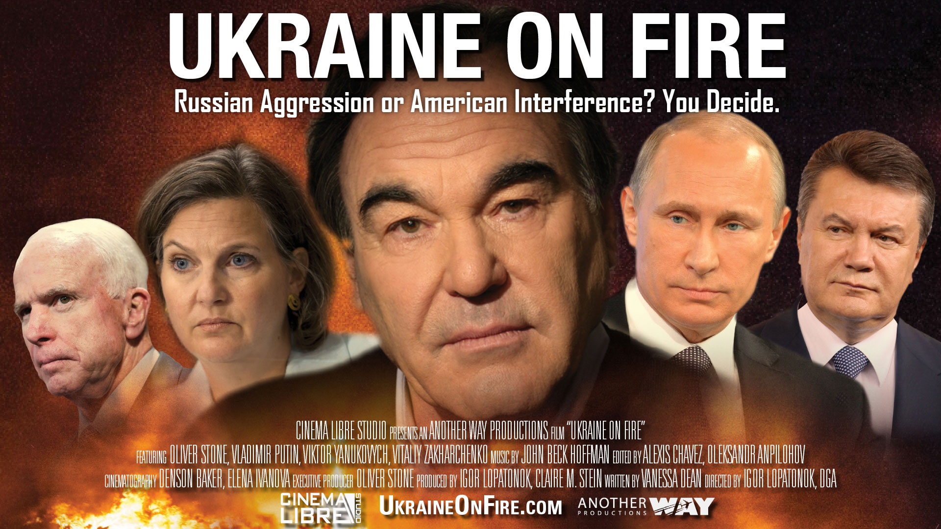 Click to purchase Ukraine on Fire